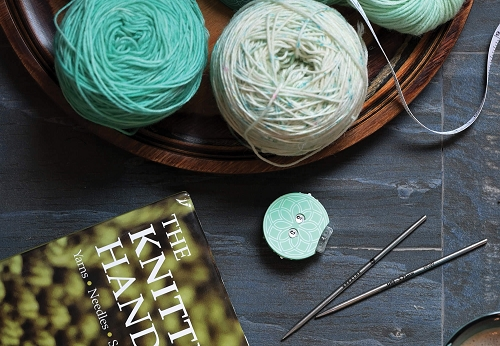 Knitters Pride Mindful The Teal Row Counter